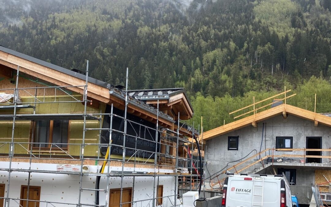 Chalet renovation in central Chamonix