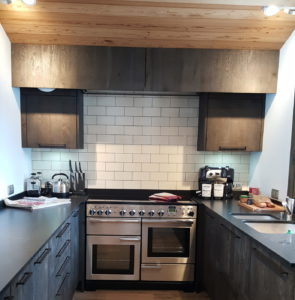 New kitchen in chalet