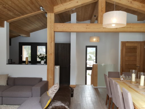 Le Lavancher Chalet Renovation