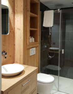 Chalet bathroom refitted